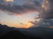 Sunset  at Rifugio Garelli